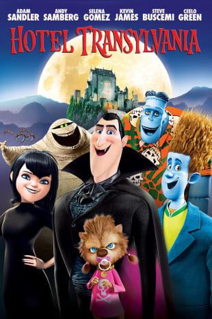 movie poster for Hotel Transylvania
