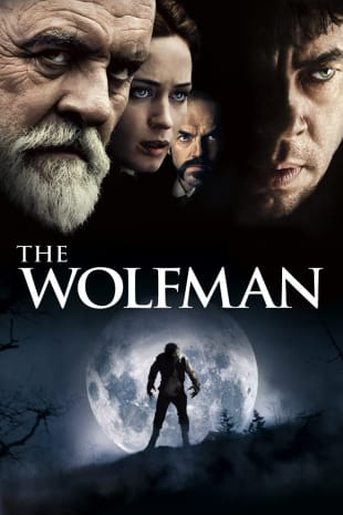movie poster for The Wolfman