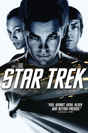 movie poster for Star Trek