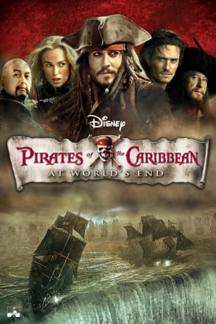movie poster for Pirates Of The Caribbean: At World's End