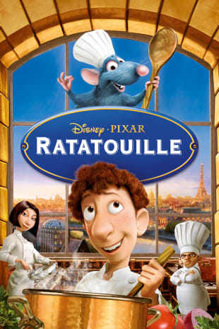 movie poster for Ratatouille