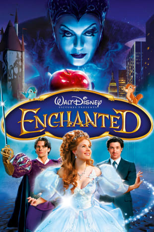 movie poster for Enchanted