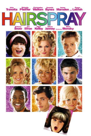 movie poster for Hairspray