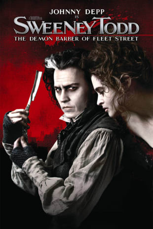 movie poster for Sweeney Todd