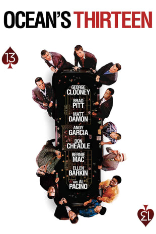 movie poster for Ocean's Thirteen