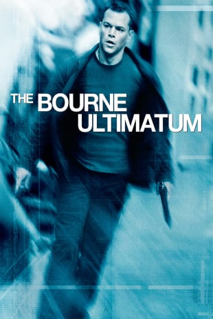 movie poster for The Bourne Ultimatum