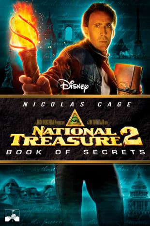 movie poster for National Treasure: Book Of Secrets