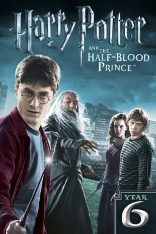 movie poster for Harry Potter And The Half Blood Prince