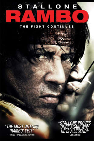 movie poster for Rambo