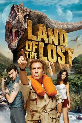 movie poster for Land Of The Lost