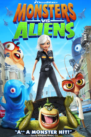 movie poster for Monsters vs. Aliens
