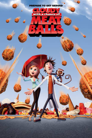movie poster for Cloudy With A Chance Of Meatballs