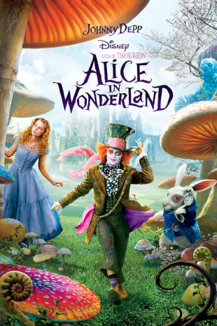 movie poster for Alice In Wonderland