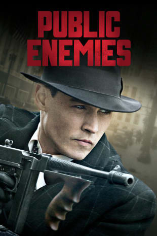 movie poster for Public Enemies
