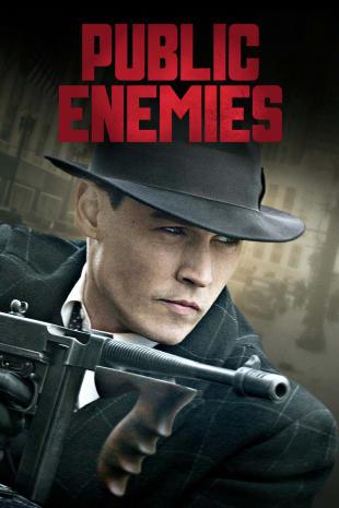 movie poster for Public Enemies
