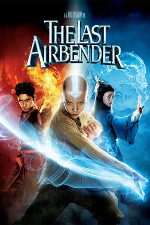 movie poster for The Last Airbender