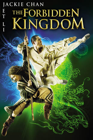 movie poster for The Forbidden Kingdom