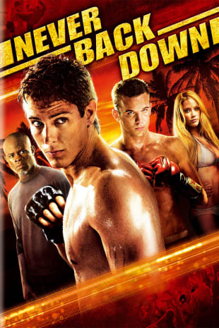 movie poster for Never Back Down