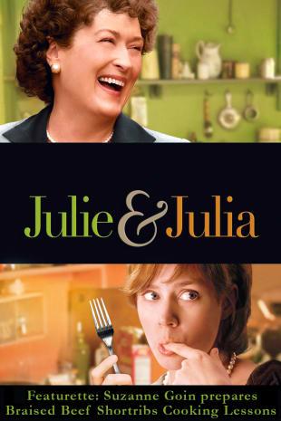 movie poster for Julie & Julia