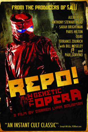 movie poster for Repo! The Genetic Opera