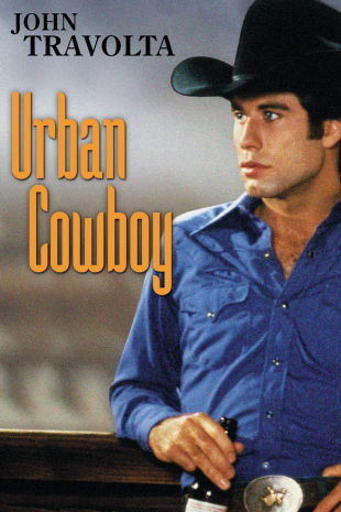 movie poster for Urban Cowboy