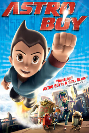 movie poster for Astro Boy