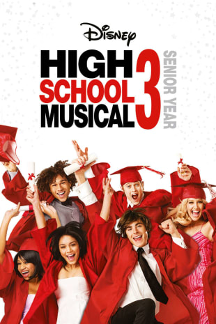 movie poster for High School Musical 3: Senior Year