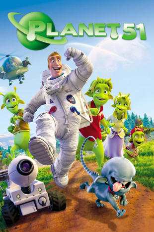 movie poster for Planet 51