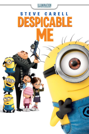 movie poster for Despicable Me