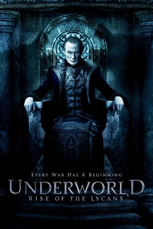 movie poster for Underworld: Rise of the Lycans