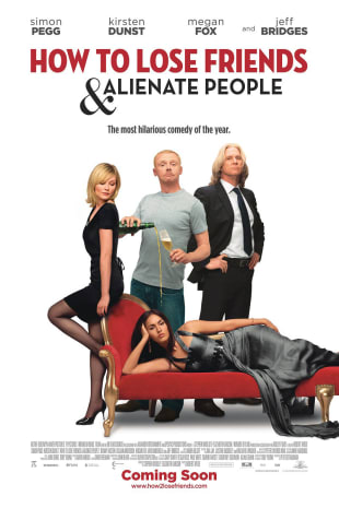 movie poster for How to Lose Friends & Alienate People