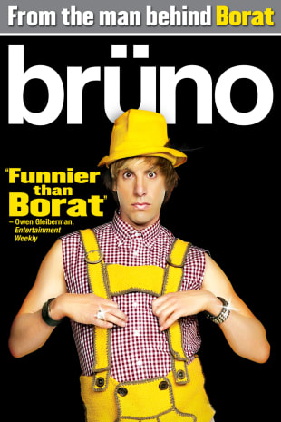 movie poster for Bruno