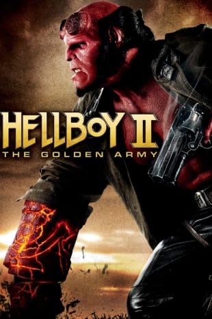 movie poster for Hellboy II: The Golden Army