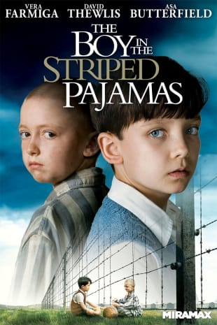 movie poster for The Boy In The Striped Pajamas