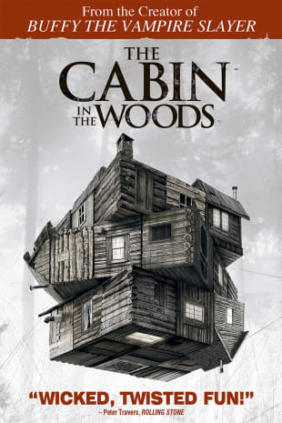 movie poster for The Cabin In The Woods