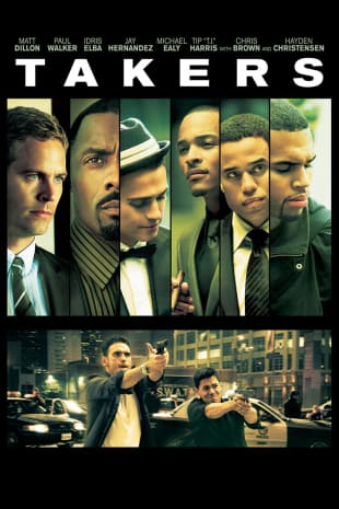 movie poster for Takers
