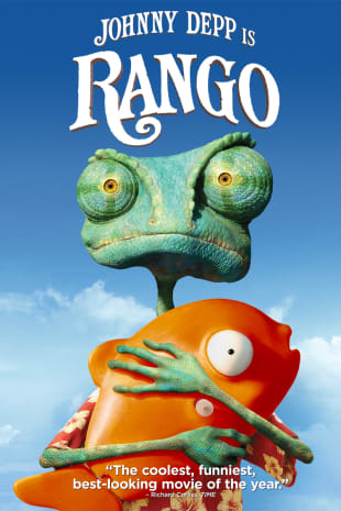 movie poster for Rango