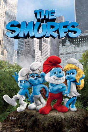 movie poster for The Smurfs