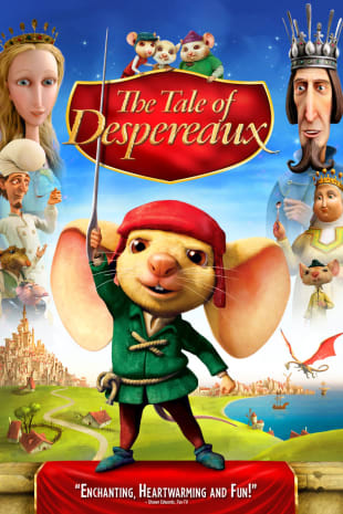 movie poster for The Tale Of Despereaux