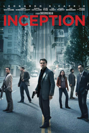 movie poster for Inception