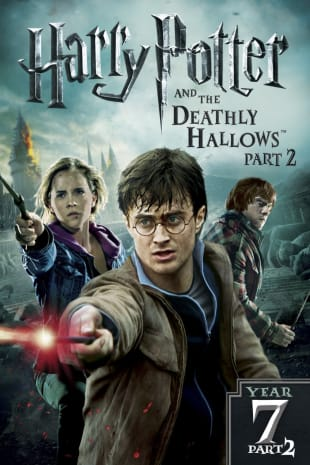 movie poster for Harry Potter & Deathly Hallows: Part 2