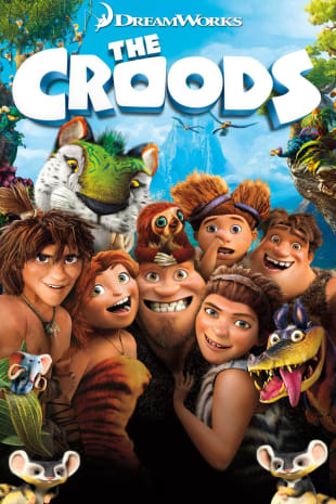 movie poster for The Croods