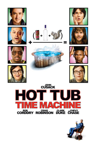 movie poster for Hot Tub Time Machine