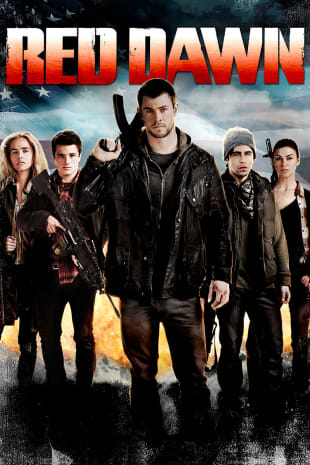 movie poster for Red Dawn