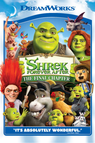movie poster for Shrek Forever After