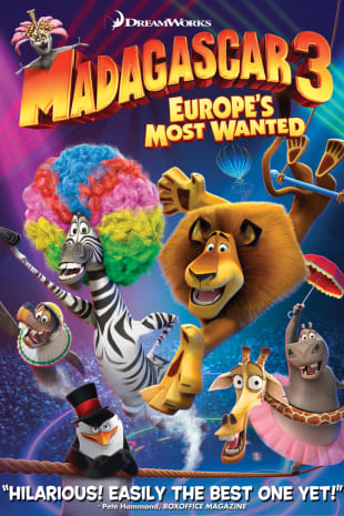 movie poster for Madagascar 3