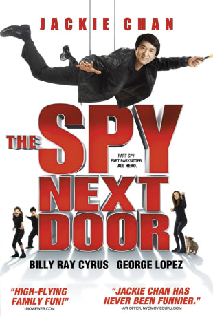 movie poster for The Spy Next Door