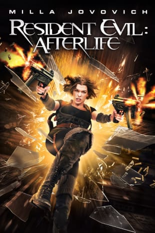 movie poster for Resident Evil: Afterlife