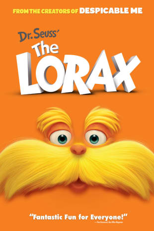 movie poster for Dr. Seuss' The Lorax