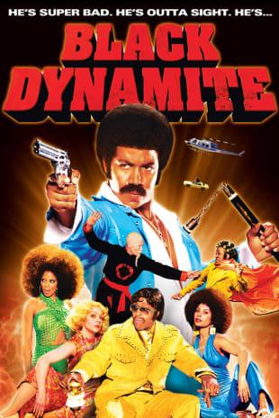 movie poster for Black Dynamite